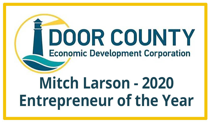 "On Deck's Mitch Larson Awarded Door County ""Entrepreneur of the Year"" for 2020"