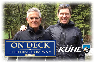 On Deck Owner/Buyer, Mitch Larson and Kuhl's Kevin Boyle at Sundance in Utah